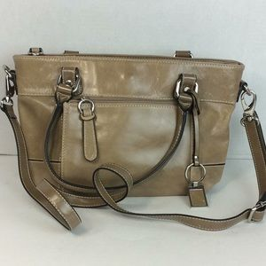 Giani Bernini Leather Shoulder/ Crossbody